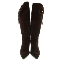 Casadei Boots made of suede