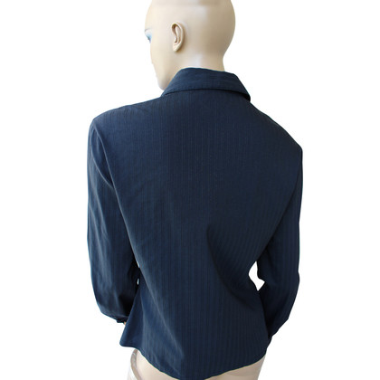 Gianni Versace Zwart katoenen blouse