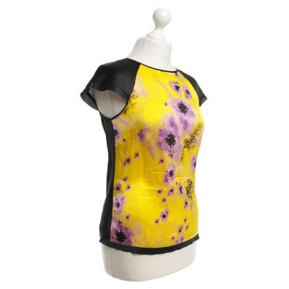 Karen Millen Zijden top met bloemmotief