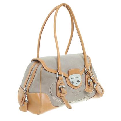 Prada Handbag with leather details