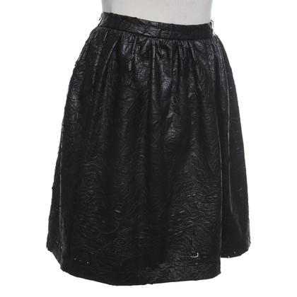 Blumarine skirt in leather look