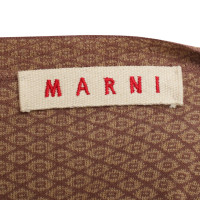 Marni Embroidery jacket with pattern