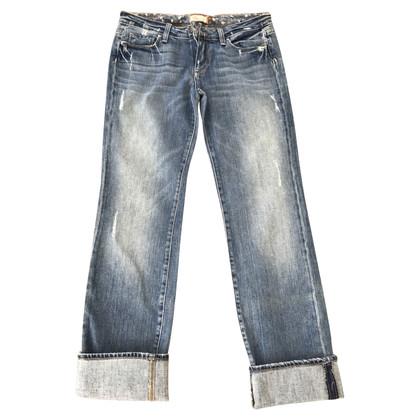 Paige Jeans Boyfriend Jeans im Used-Look