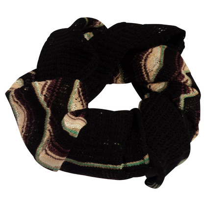 Missoni Scarf with crochet structure