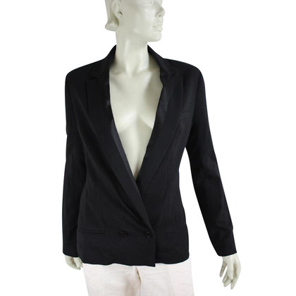 By Malene Birger Blazer with zippers at the sleeves