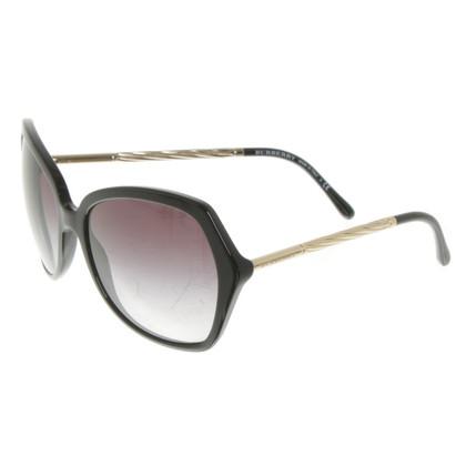 Burberry Sonnenbrille in Schwarz