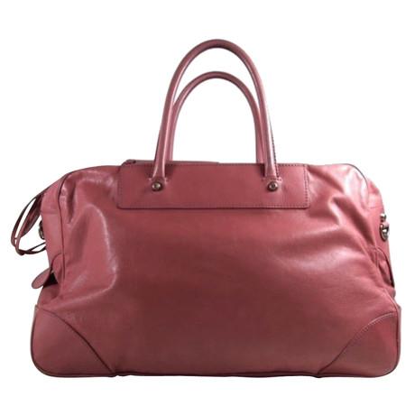 Rabatt Erwerben Offizielle Seite Günstig Online Balenciaga Lederhandtasche in Rosé Rosa / Pink Verkauf 100% Authentisch Günstig Kaufen Footlocker yrD6F