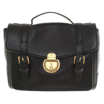 Polo Ralph Lauren Leather Satchel