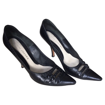 Marc Jacobs Pelle nera pumps