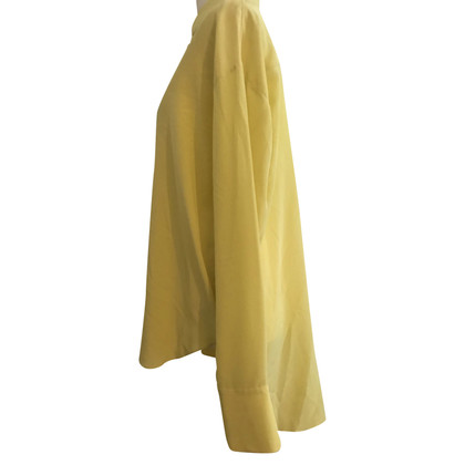 Dorothee Schumacher Silk blouse oversized yellow new