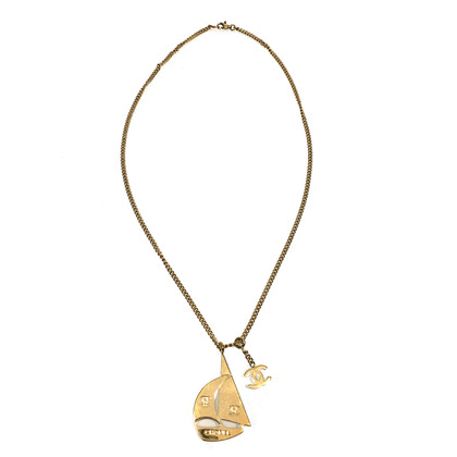 Chanel Necklace sailboat