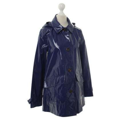 A.P.C. Rain jacket in patent leather look