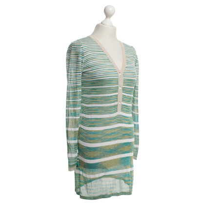 Missoni Knitted dress with striped pattern