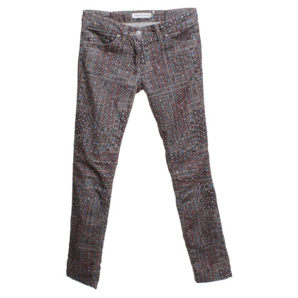 Isabel Marant Etoile Cord-trousers with print