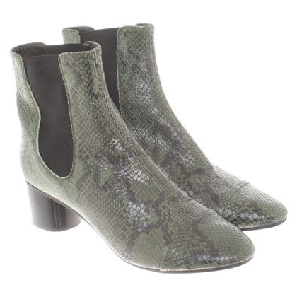 Isabel Marant Ankle boots in reptile look