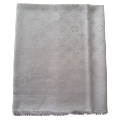 Louis Vuitton Monogram Scarf Lila