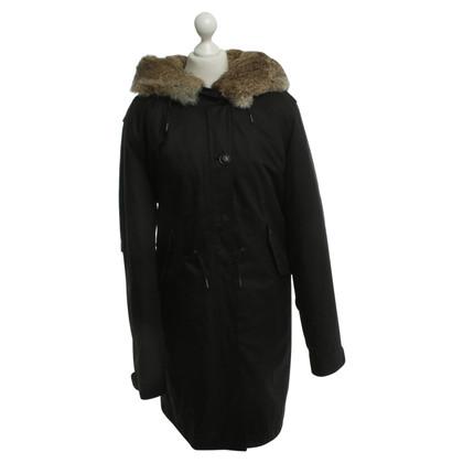 Woolrich Coat in zwart