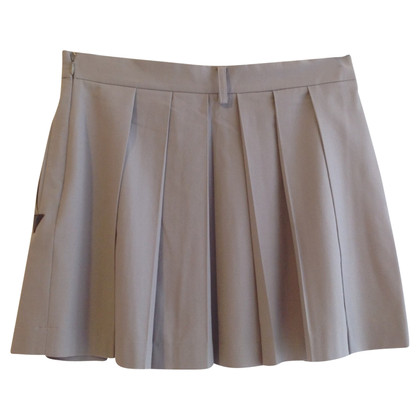 Patrizia Pepe Pleated skirt in beige