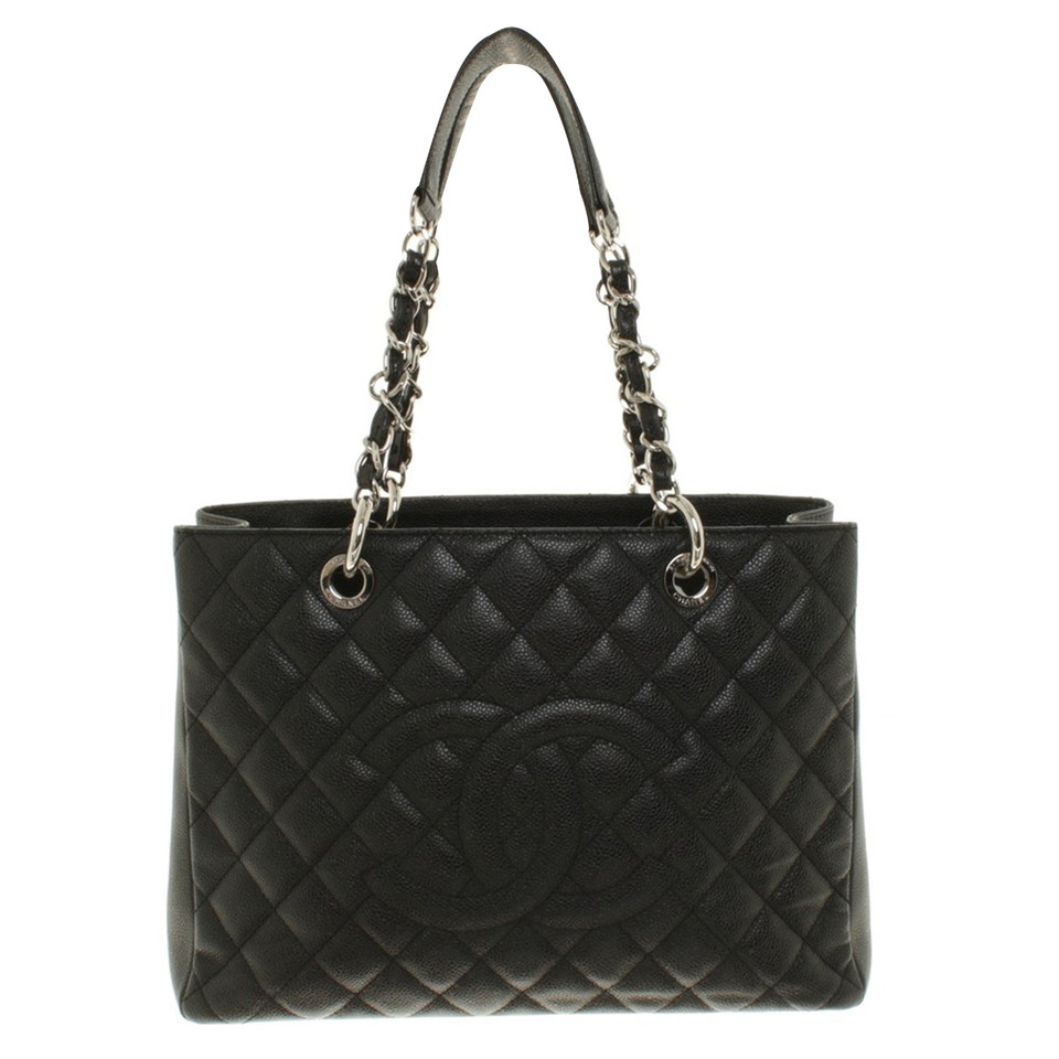 "Chanel ""Grand Shopping Tote"" made of caviar leather"