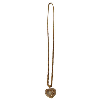 Chopard Yellow gold necklace with heart pendant