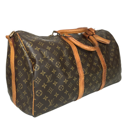 "Louis Vuitton ""Keepall 50 Monogram Canvas"" with shoulder straps"