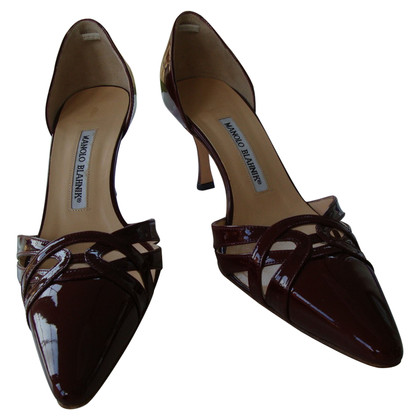 Manolo Blahnik Lackpumps