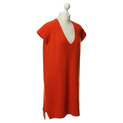 Hermès Strickkleid in Orange