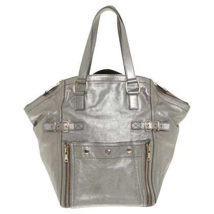 "Yves Saint Laurent Handbag ""silver"" in silver"