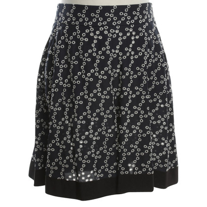 Dorothee Schumacher Pants skirt with hole pattern