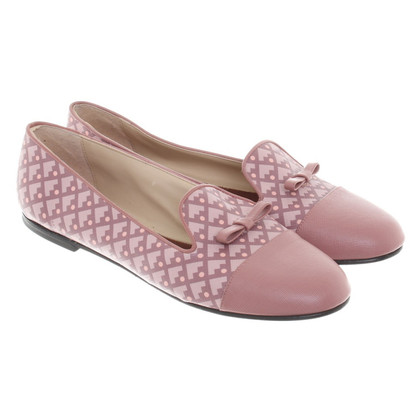 Bally Ballerinas with pattern