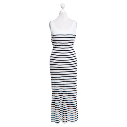 Jean Paul Gaultier Striped maxi dress