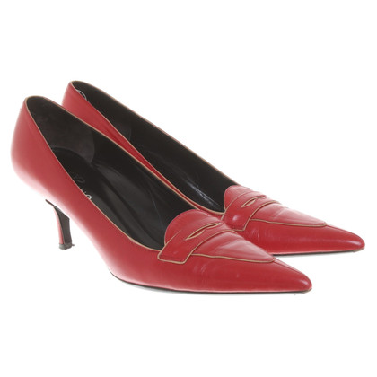 Valentino pumps in red