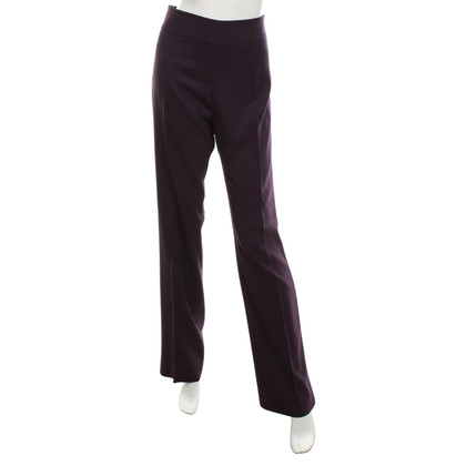 Armani Collezioni Broek in Purple