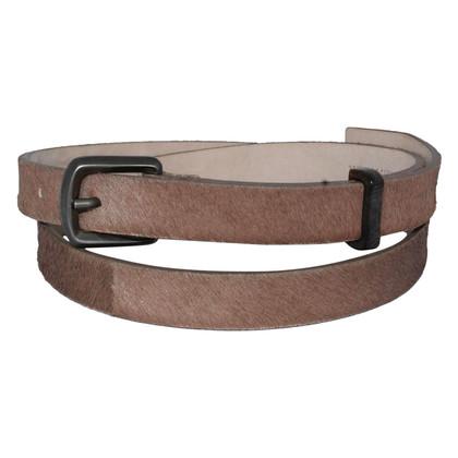 Brunello Cucinelli Belt with fur trim