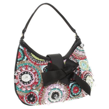 Rena Lange Handtasche mit Paillettenstickerei