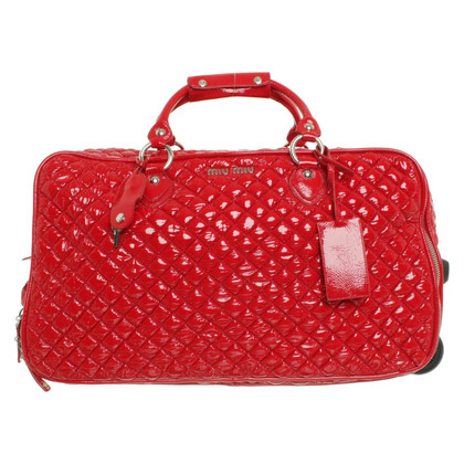 Miu Miu Trolley in red