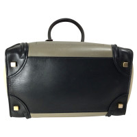 "Céline ""Mini Luggage Bag"" in Tricolor"