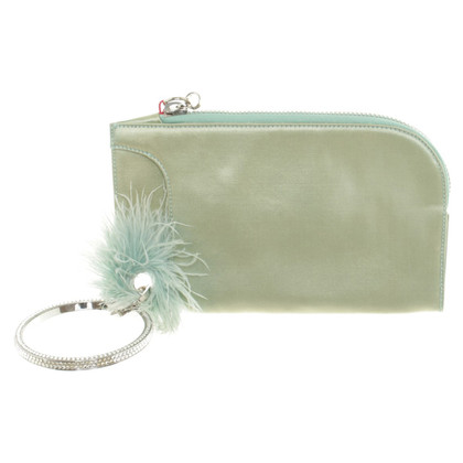 Other Designer Mintfarbene clutch