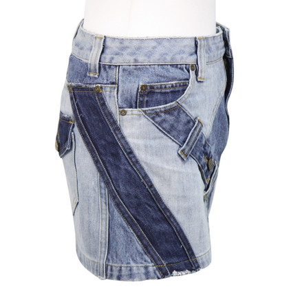 Karen Millen Denim rok in blauw