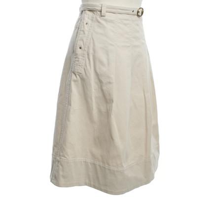 Max Mara Pleated skirt in beige
