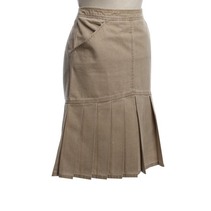 Chanel Pleated skirt in beige