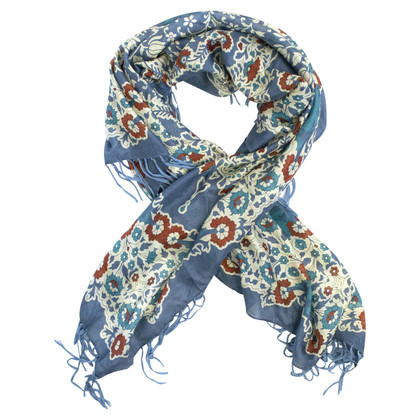 Other Designer Silk scarf with pattern