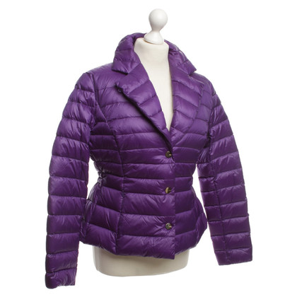 Escada Quilted Jacket purple