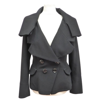 Christian Dior Jacket with large collar
