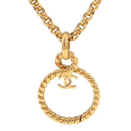 Chanel a catena color oro