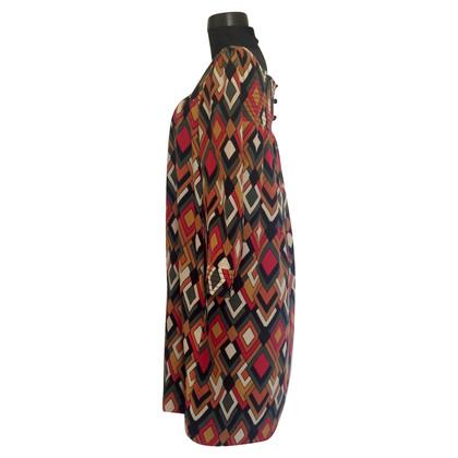 Missoni by Target zijde veelkleurige geometrische print jurk