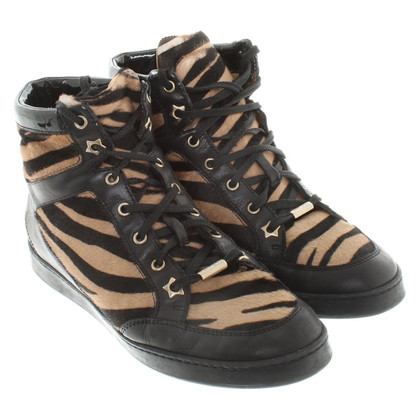Jimmy Choo Sneakers in zebra look