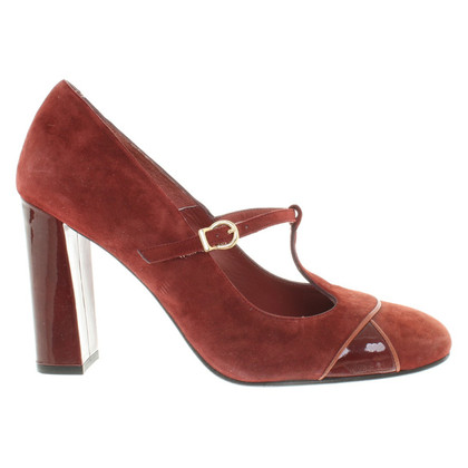 Paco Gil Pumps aus Wildleder