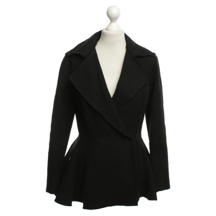 Lanvin Jacket with peplum black