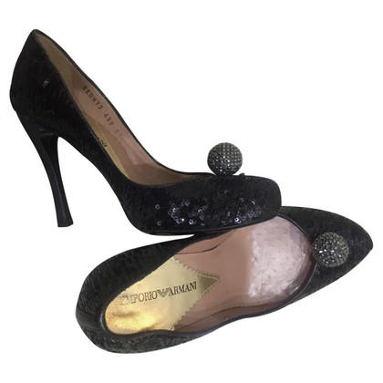 Armani pumps with sequins
